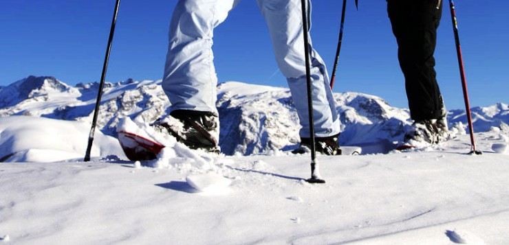 Rakiety śnieżne – spacer po górskich zboczach